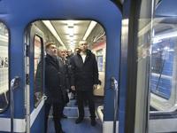 Врио губернатора в метродепо рассматривал перспективу подземки