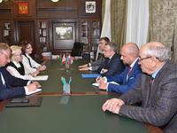 Первый вице-губернатор встретился с делегацией Республики Беларусь